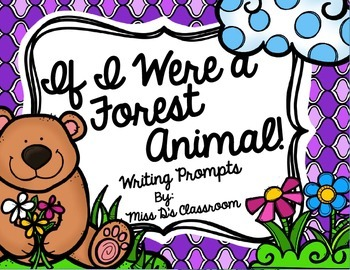 If I Were A Forest Animal! Writing Prompts