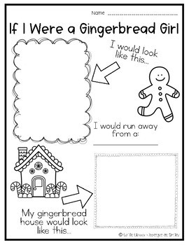 If I Were A Gingerbread...