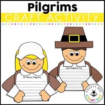 If I Were A Pilgrim Craftivity