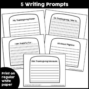 Pilgrim Craft {If I Were a Pilgrim Writing Prompts}