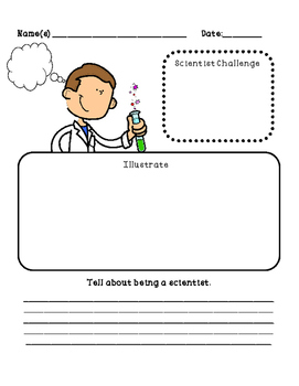 "If I Were A Scientist Nonfiction Bk w/ Science Activity Lessons and ""HOT"" Ideas"