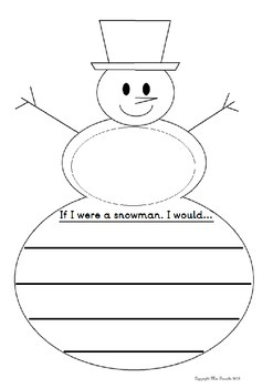 If I Were A Snowman...