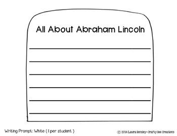 If I Were Abraham Lincoln Craftivity