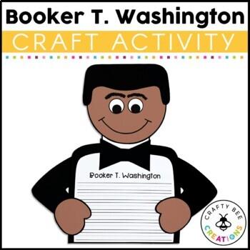 If I Were Booker T. Washington Craftivity