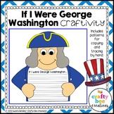 George Washington Craft | President Day Activities | American Symbols | Writing
