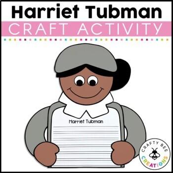 If I Were Harriet Tubman Craftivity