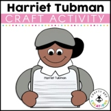 Black History Month Craft {If I Were Harriet Tubman Writing Prompts}