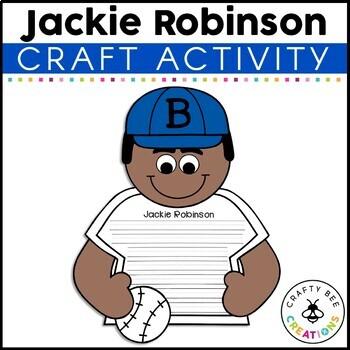 If I Were Jackie Robinson Craftivity