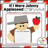 Johnny Appleseed Craft {If I Were Johnny Appleseed Writing Prompts}