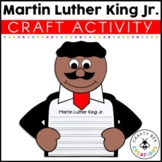 Black History Month Craft {If I Were Martin Luther King Jr. Writing Prompts}