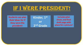 If I Were President!