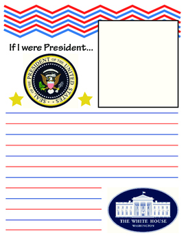 If I Were President Grades 4-8