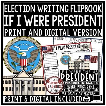 If I Were President - Writing Activity