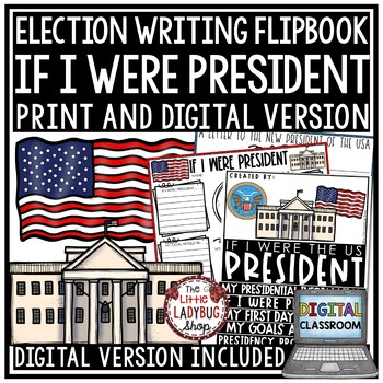 If I Were President Writing - Presidents' Day Writing Posters