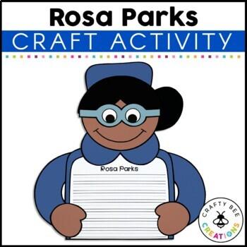 If I Were Rosa Parks Craftivity