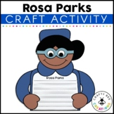 Black History Craft {If I Were Rosa Parks Writing Prompts}