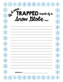 If I Were Trapped Inside of a Snow Globe Fun Winter Writing Prompt