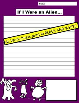 If I Were... Writing Prompt Printables