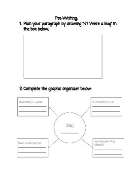 If I Were a Bug (FUN SPRING WRITING ACTIVITY!)