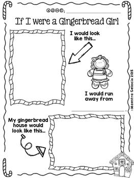 If I Were a Gingerbread Boy/Girl