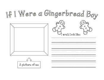 If I Were a Gingerbread Boy/Girl