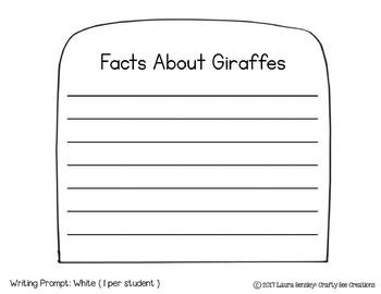 If I Were a Giraffe Craftivity
