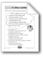 If I Were a Goldfish (Creative Writing)