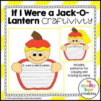 If I Were a Jack-O-Lantern Craftivity
