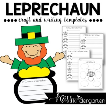 If I Were A Leprechaun Craft And Writing Templates By Miss