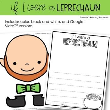 If I Were a Leprechaun {Writing Prompt}