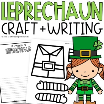 If I Were a Leprechaun {Writing Activity}