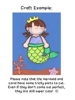 If I Were a Mermaid/Merman Writing Prompt & Craft