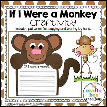 If I Were a Monkey Craftivity