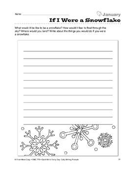 If I Were a Snowflake