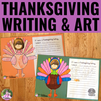 Thanksgiving Writing and Art Activities
