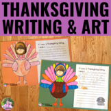 Thanksgiving Writing Activity | Thanksgiving Art