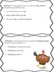 If I Were a Turkey - Writing Prompt