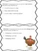 If I Were a Turkey - Writing Prompt