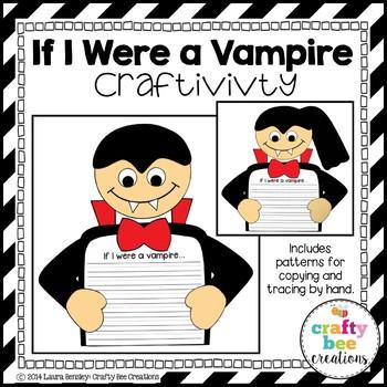 If I Were a Vampire Craftivity