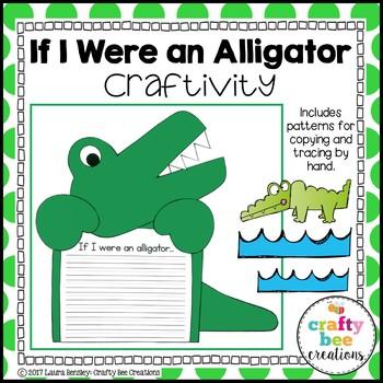 Alligator Craft {If I Were an Alligator Writing Prompt}