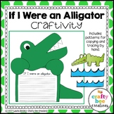 Alligator Craft {If I Were an Alligator Writing Prompt}