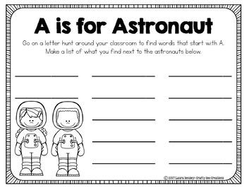 If I Were an Astronaut Craftivity