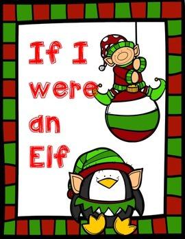If I Were an Elf Bilingual Writing Activity (English/Spanish)