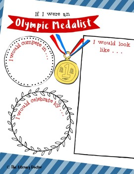 If I Were an Olympic Medalist . . . Olympics . . . Olympic Games . . . FREE!