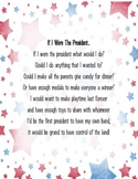 If I Were the President Poem