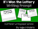 If I Won the Lottery FREEBIE