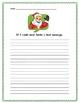 If I could send Santa a text... (cute creative writing)