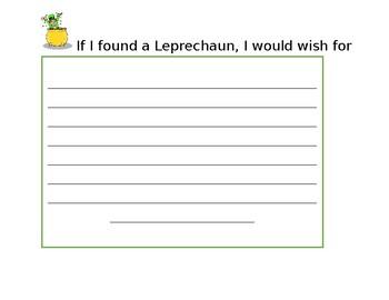 If I found a leprechaun