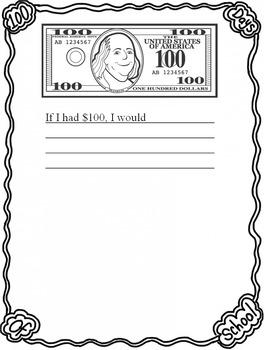 If I had $100...