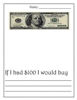If I had $100